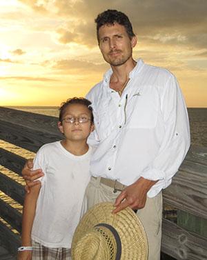 Jason and son Izak